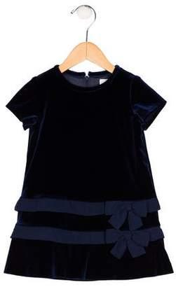 Florence Eiseman Girls' Velvet Shift Dress w/ Tags