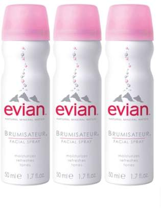 Evian R) Facial Water Spray Trio