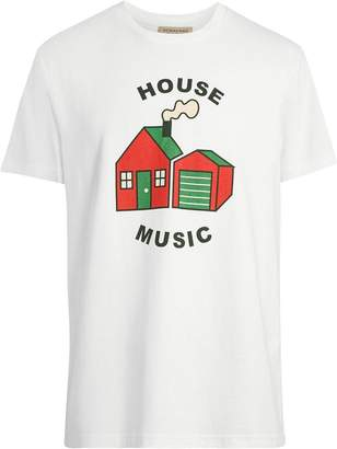 Burberry House Music Print Cotton T-shirt