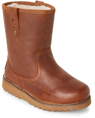 UGG Kids Girls) Chestnut Redwood II Lined Boots