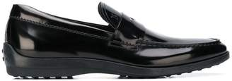 Tod's classic varnished loafers