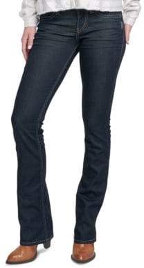 Silver Jeans Suki Mid-Rise Slim Bootcut Jeans