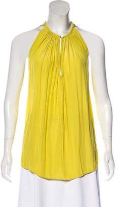 Ramy Brook Pleated Sleeveless Blouse