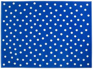 Lorena Canals Dots Acrylic Rug (Deep Blue Medium)