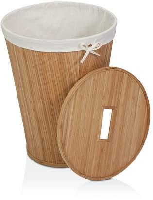 Honey-Can-Do Round Wicker Hamper