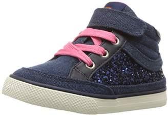 Hanna Andersson Girls' Teo Glitter High Top Sneaker