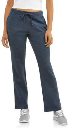 Athletic Works Fleece Pants With Front Pockets