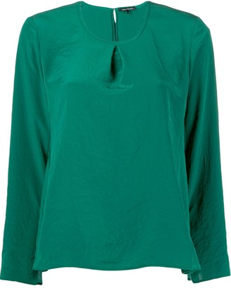 Luisa Cerano satin blouse