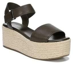 Franco Sarto Ben Leather Platform Sandals