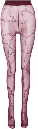 Balenciaga Printed tights