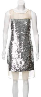 Michael Kors Silk Sequin Dress