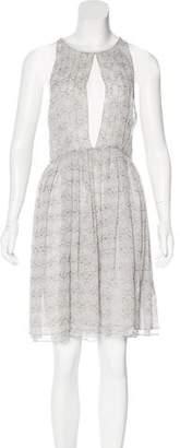 Thomas Wylde Silk Knee-Length Dress w/ Tags