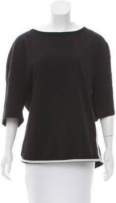 Dries Van Noten Knit Short Sleeve Sweatshirt