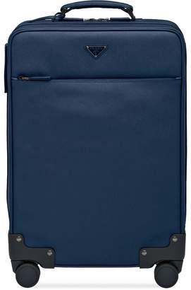 7aedd2f45660 Prada Saffiano leather wheeled carry-on