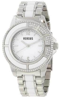 Versus By Versace Women's 'Tokyo' Quartz Stainless-Steel-Plated Casual Watch