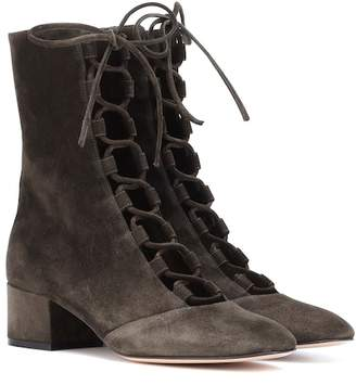 Gianvito Rossi Exclusive to mytheresa.com – Delia suede ankle boots
