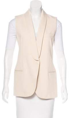 Lanvin 2016 Shawl Collar Vest w/ Tags