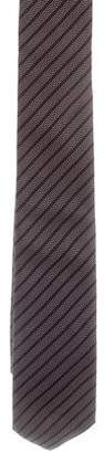 Christian Dior Silk Striped Tie