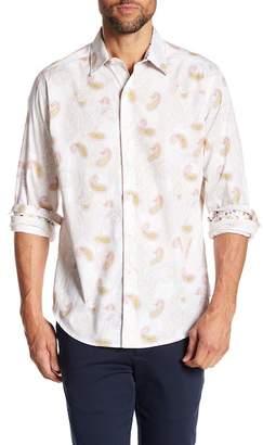 Robert Graham Hendon Classic Fit Print Woven Shirt
