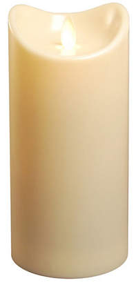 "Jh Specialties Inc/lumabase Lumabase 7"" Cream Battery Operated LED Candle with Moving Flame"