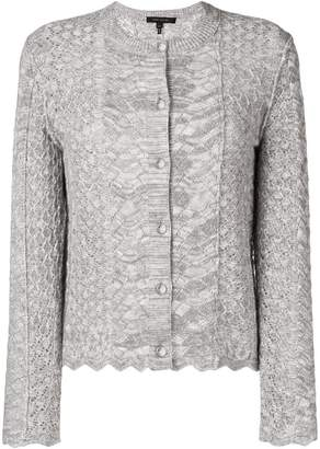 Marc Jacobs perforated knit cardigan