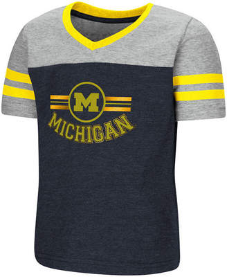 Colosseum Michigan Wolverines Pee Wee T-Shirt, Toddler Girls (2T-4T)