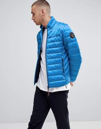 Napapijri Aerons Quilted Jacket In Blue