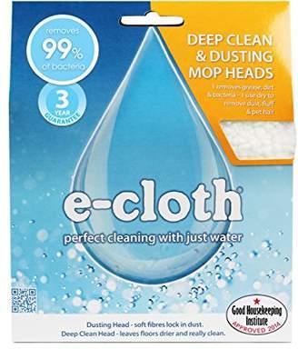E-cloth Deep Clean & Dusting Mop Head Pack - 2 heads