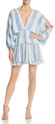 MISA Los Angeles Caterina Split-Sleeve Dress