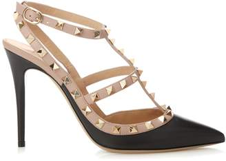 VALENTINO Rockstud leather pumps $780 thestylecure.com