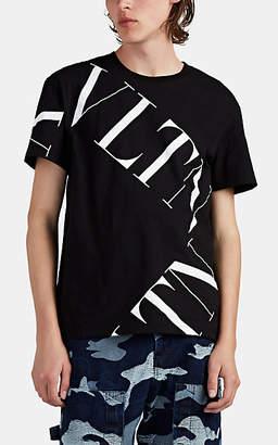Valentino Men's Logo Cotton T-Shirt - Black