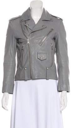 Zadig & Voltaire Leather Zip Jacket