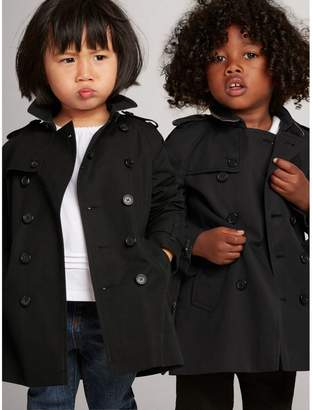 Burberry The Wiltshire Trench Coat , Size: 2Y, Black