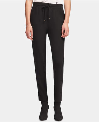 DKNY Drawstring Pull-On Pants