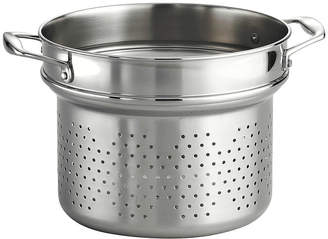 Tramontina 18/10 Stainless Steel 9 Pasta Insert for Gourmet 8-qt. Tri-Ply Clad Stock Pot