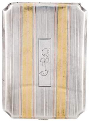 Elgin Manufacturing Company Cigarette Case