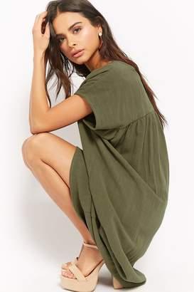 Forever 21 Relaxed Woven Dress