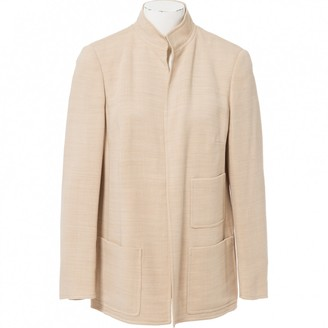 Akris Beige Wool Jackets
