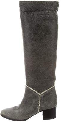 Tecnica Shearling Knee-High Boots cheap 100% original latest sale online dAs8elEM