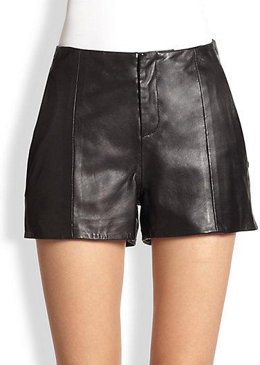 Rag and Bone Rag & Bone Leather Shorts