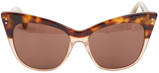Erdem Brown Plastic Sunglasses