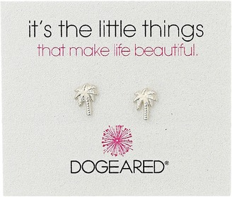 Dogeared - Little Things Palm Tree Stud Earrings Earring $38 thestylecure.com