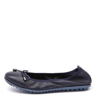 Django & Juliette New Belin Navy Womens Shoes Casual Shoes Flat