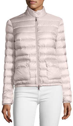 Moncler Lans Collared Down Jacket