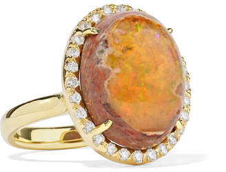 Kimberly McDonald - 18-karat Gold, Opal And Diamond Ring