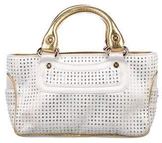 870a6f3570 Pre-Owned at TheRealReal. Celine Crystal-Embellished Satin Boogie Bag