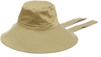 6bdd1d4a244 Ganni Hewson Wide Brim Safari Hat - Womens - Green