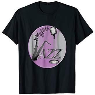Play Saxophone Jazz Music tshirt
