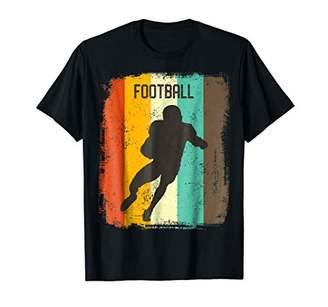 Football Player TShirt Retro 70s Vintage Gridiron Men Gift