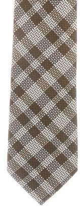 Tom Ford Abstract Print Silk Tie